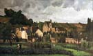 View of Hermitage at Pontoise 1967 - Camille Pissarro