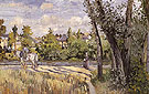 Sunlight on the Road Pontoise 1874 - Camille Pissarro