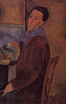 Self Portrait 1919 - Amedeo Modigliani