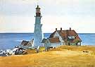 Portland Head Light 1927 - Edward Hopper