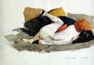 Reclining Nude 1924 - Edward Hopper