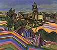 Prades the Village 1917 - Joan Miro