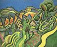 Ciurana the Path 1917 - Joan Miro