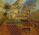 The Vegetable Garden with Donkey 1918 - Joan Miro