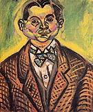 Self Portrait 1917 - Joan Miro