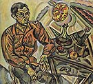 Portrait V Nubiola 1917 - Joan Miro