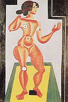Standing Nude 1921 - Joan Miro