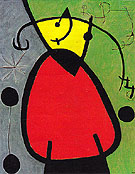 The Birth of Day 26 3 1968 - Joan Miro