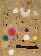 Painting on Celotex 1937 - Joan Miro