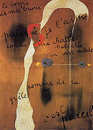 Painting Poem 1925 - Joan Miro