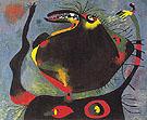 Head of a Woman 1938 - Joan Miro