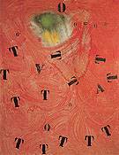 Letters and Numbers Attracted by a Spark I 5 6 1968 - Joan Miro