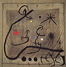 Woman Surrounded by a Flight of Birds in the Night 28 5 1968 - Joan Miro