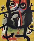 Woman in the Night 26 11 1970 - Joan Miro