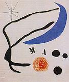 Poem I 17 5 1968 - Joan Miro