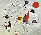 Woman and Birds at Sunrise 14 2 1946 - Joan Miro