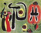 The Red Sun Gnaws at the Spider 1948 - Joan Miro