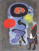 The Red Sun 1948 - Joan Miro
