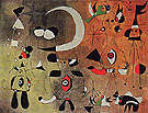 Painting Figures in the Night 1949 - Joan Miro