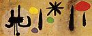 Painting 1952 - Joan Miro