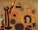 Dragonfly with Red Tipped Wing in Pursuit of a Serpent Spiralling Toward a Comet 1951 - Joan Miro