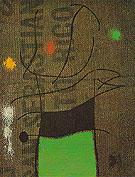 Woman and Bird IV X 1960 - Joan Miro