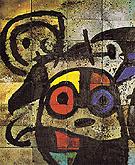 Ceramic Mural for Harvard University detail 1960 - Joan Miro