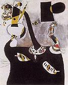 Seated Woman II 1938 - Joan Miro