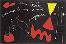 A Star Caresses the Breasts of a Negro Woman 1938 - Joan Miro