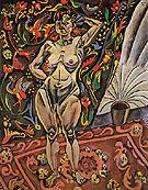 Standing Nude 1918 - Joan Miro