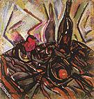 Still Life with Rose 1916 - Joan Miro