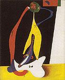 Seated Woman 1932 - Joan Miro