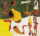 Figures in Front of a Metamorphosis 1936 - Joan Miro