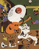 Dutch Interior I 1928 - Joan Miro