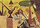 The Tilled Field 1923 - Joan Miro