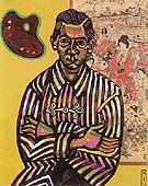 Portrait of Eric Cristofol Ricart 1917 - Joan Miro