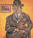 Portrait of Heriberto Casany 1918 - Joan Miro