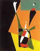 Girl Doing Physical Culture 1932 - Joan Miro
