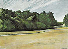 Mass of Tree at Eastham 1962 - Edward Hopper