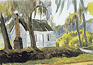 Cabin Charleston S C 1927 - Edward Hopper