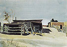 Adobes and Shed New Mexico 1925 - Edward Hopper