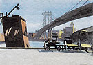 Manhattan Bridge 1925 - Edward Hopper