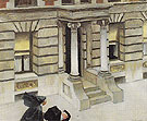 New York Pavements 1924 - Edward Hopper