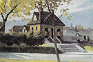 Small Town Station 1918 - Edward Hopper