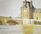 Le Pont Royal 1909 - Edward Hopper
