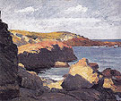 Sea at OgunQuit 1914 - Edward Hopper