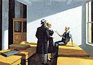 Conference at Night 1949 - Edward Hopper