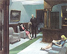 Hotel Lobby 1943 - Edward Hopper