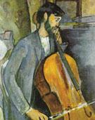The Cellist 1909 - Amedeo Modigliani