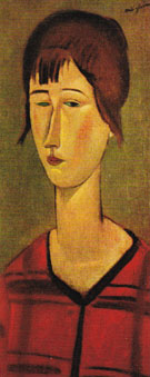 Marcelle 1917 - Amedeo Modigliani